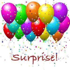My First Surprise Party Descriptive Writing Examples